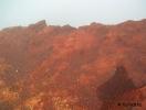 Egy kráter pereme