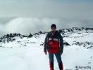 2500 méteren, alattam felhők
