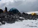 A Pastuchov sziklánál is sátraztak
