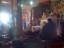 Itt imádkoznak a szerzetesek