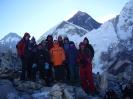 A Kala Pattharon, háttérben az Everest