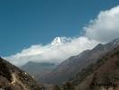 A felhők fölött ismét az Ama Dablam